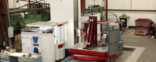 CNC Horizontal Boring Mill inside machine shops in Ohio Lange Grinding and Machining